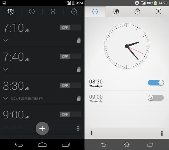 clock comparison 2