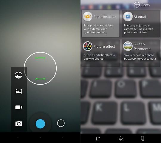 camera comparison xperia Z1 vs Nexus 5