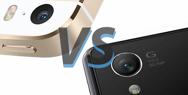 xperia z1 vs iphone 5s