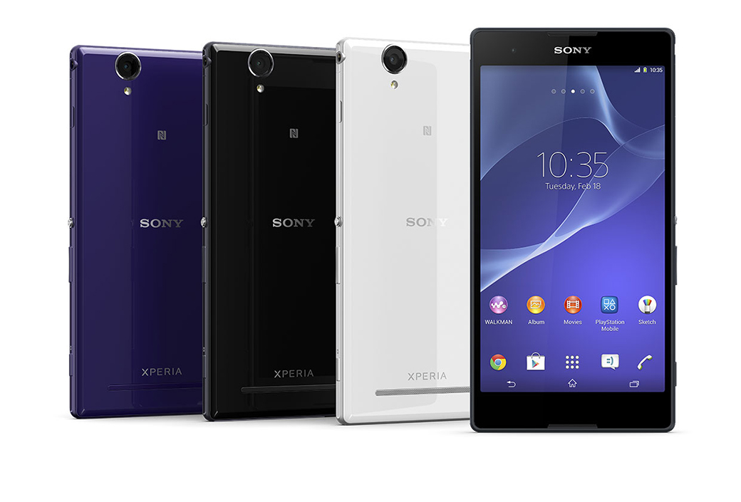 Xperia T2 Ultra Colors
