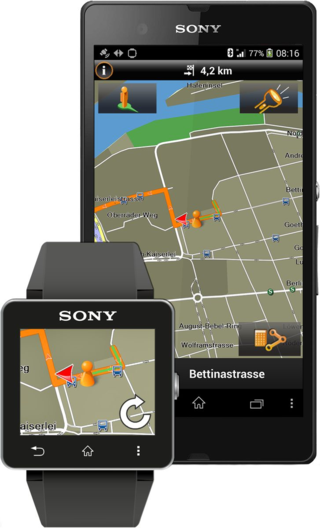 Garmin Xperia and Smartwatch