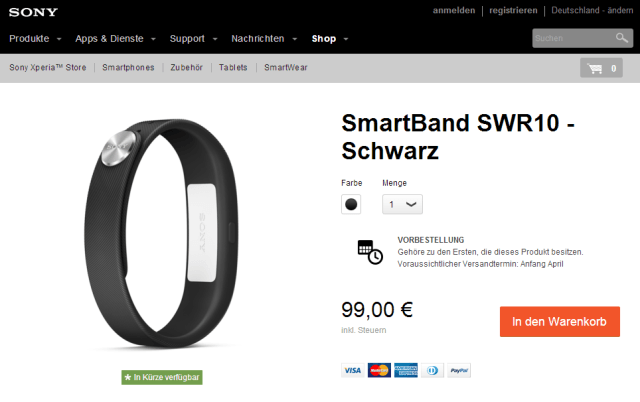 Smartband цена