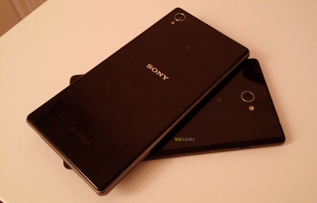 Sony Xperia G vs Xperia Z1 задние панели