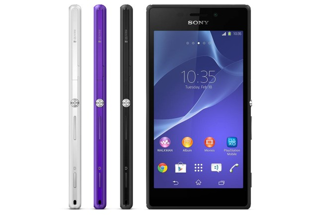 Xperia M2 all color