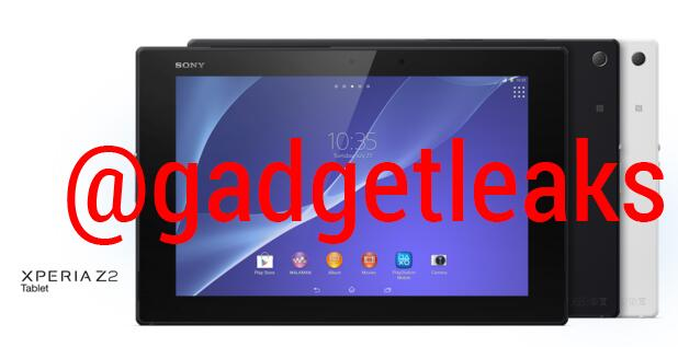 первые фото Xperia Z2 Tablet