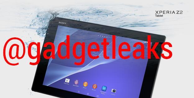 первые фото Xperia Z2 Tablet