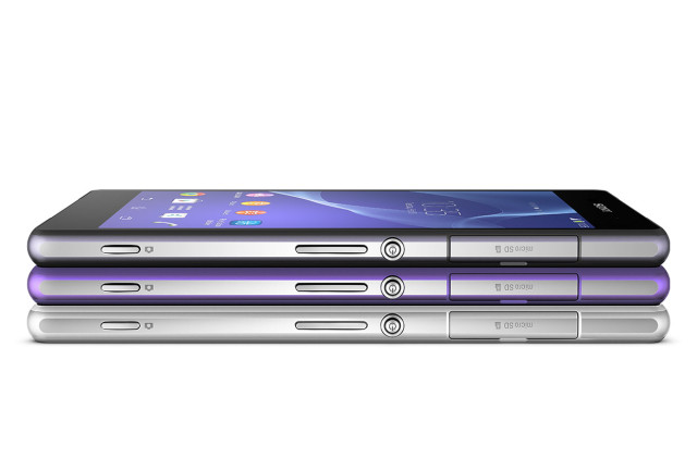 Xperia Z2 все цвета торцы