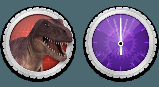 иконки timeburst shift и AR Effect