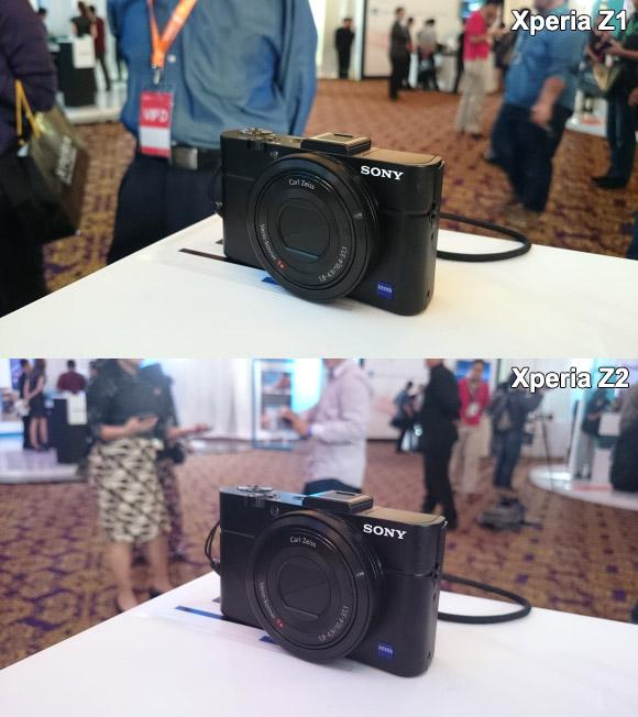 Сравнение камер Xperia Z2 и Xperia Z1
