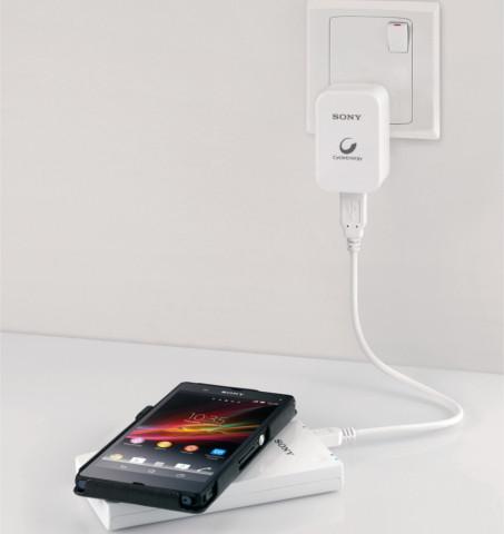 Sony CP-W5 - Qi-зарядка и портативный аккумулятор в одном устройстве