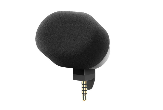 стерео микрофон Sony STM10 c мягкой амброшурой уже в продаже