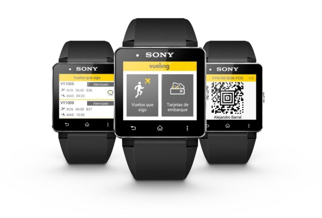 испанская авиакомпания Vueling сделает приложение для Smartwatch 2