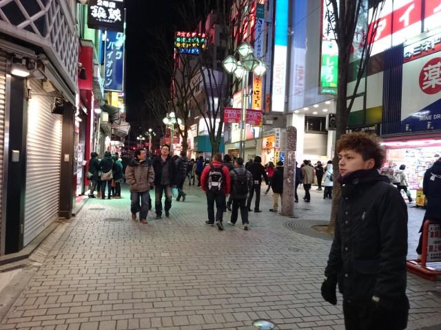 Ночной Токио снятый на Xperia Z2