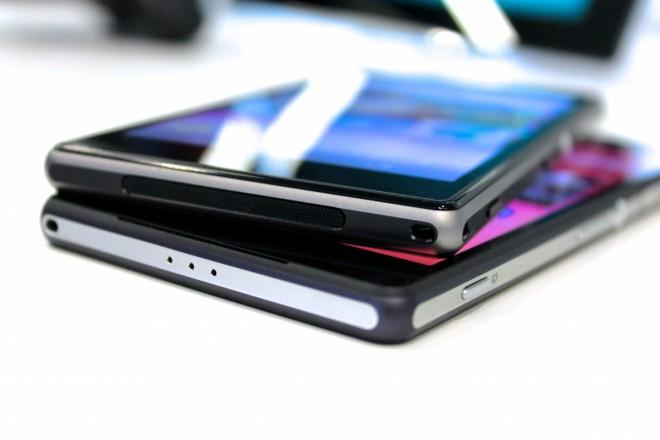 Sony Xperia Z2 и Xperia Z1