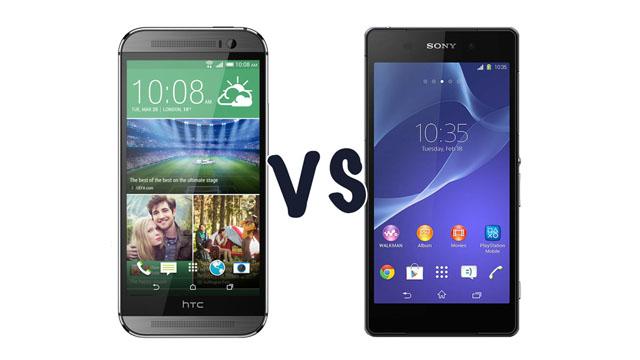 Сравнение Sony Xperia Z2 и HTC One M8