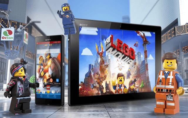 Эксклюзивная тема Xperia LEGO Movie доступна для скачивания в Google Play