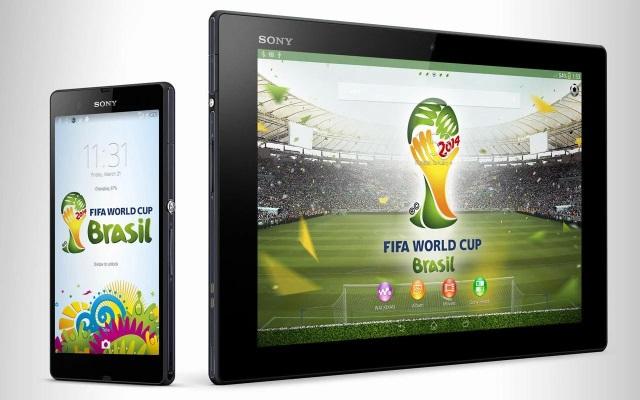 Xperia FIFA2014 World Cup Brasil Тема уже доступна для скачивания