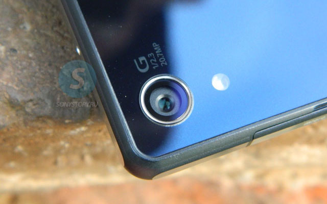 Обзор Xperia Z2, камера