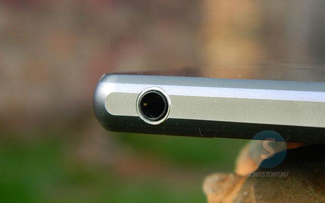 Обзор Xperia Z2, 5-контактный мини-джек