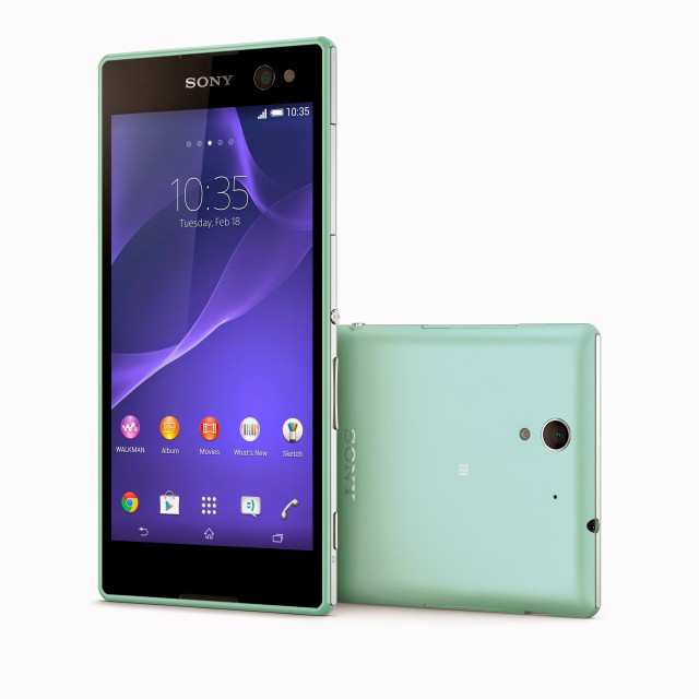 Анонс Sony Xperia C3 - лучшего в мире Selfie смартфона