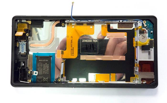 Как разобрать Xperia Z2