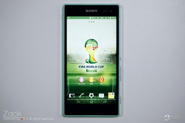 живые снимки Xperia C3 - лучший селфи смартфон