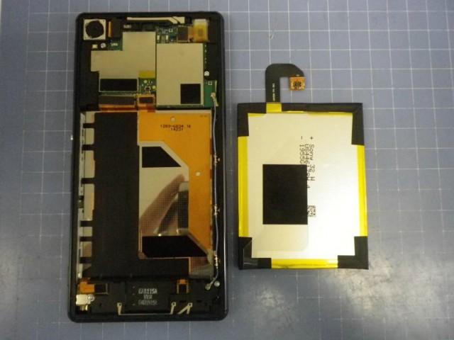 Новая утечка Xperia Z3 и снимки в разобранном виде