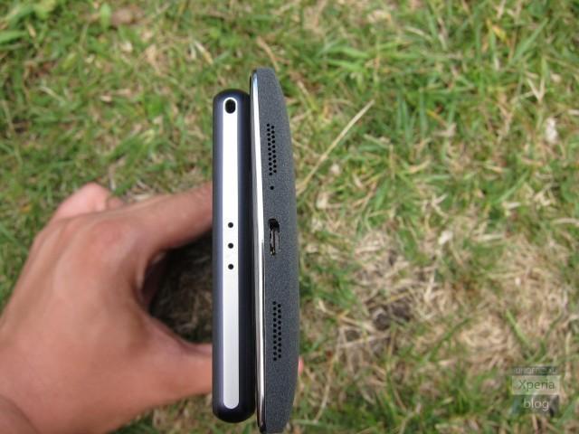 OnePlus One vs Xperia Z2: внешний вид
