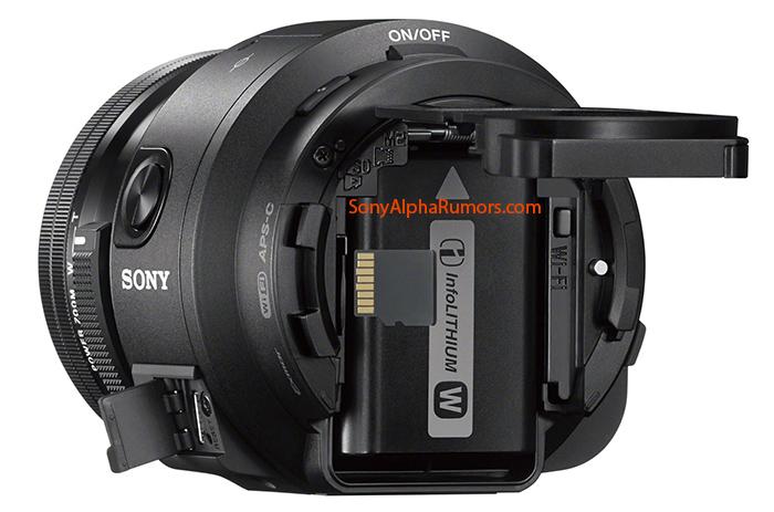 Новый камера-объектив QX1 Sony будет представлен на IFA 2014