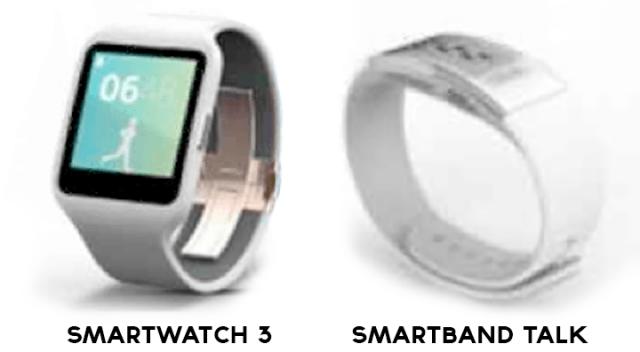 Новые подробности о умных часах SmartWatch 3, а также SmartBand Talk