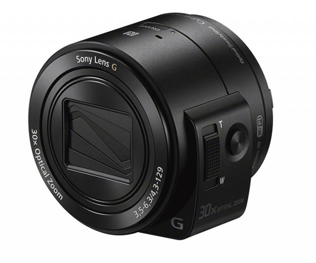 Слухи подтвердились: Sony покажет камера-объектив QX30 с 30x зумом