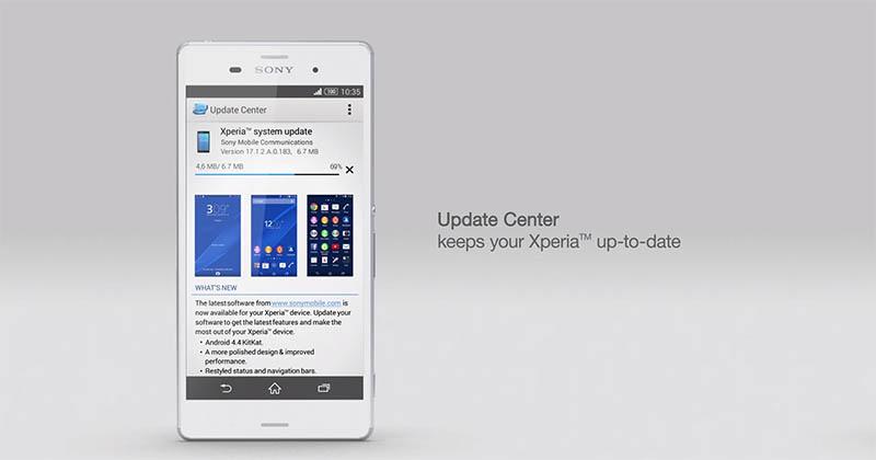 Новые программные возможности в линейке Xperia Z3