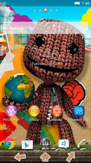 LittleBigPlanet Xperia тема доступна для скачивания