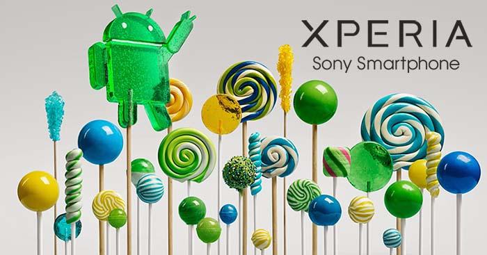 Планы Sony по обновлению устройств Xperia до Android 5.0 Lollipop