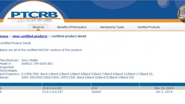 Новая прошивка (23.0.1.A.4.30) сертифицирована для Xperia Z3 Tablet Compact