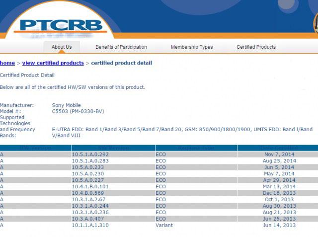 """Новая прошивка (10.5.1.A.0.292) сертифицирована для всей """"старой"""" серии Xperia Z"""