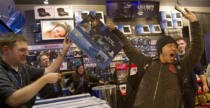 Sony продали уже 22.3 миллиона консолей PlayStation 4