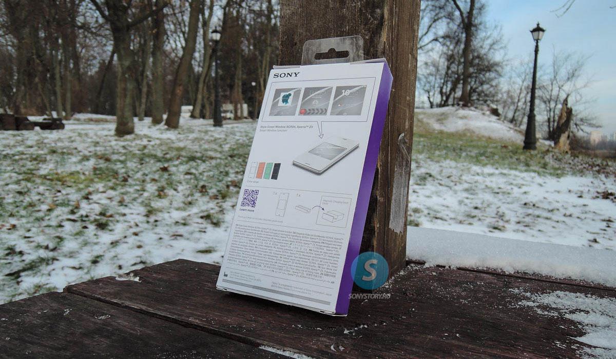Обзор Sony Smart Window Cover SCR24: чехол с окошком