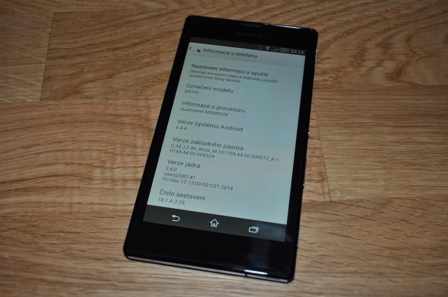 Xperia T3 получает обновление прошивки до Android 4.4.4 Kitkat