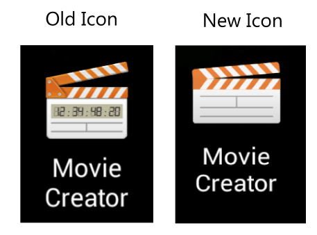 Обновление Movie Creator (2.3.A.0.3) - Material Design и намек на Android Lollipop