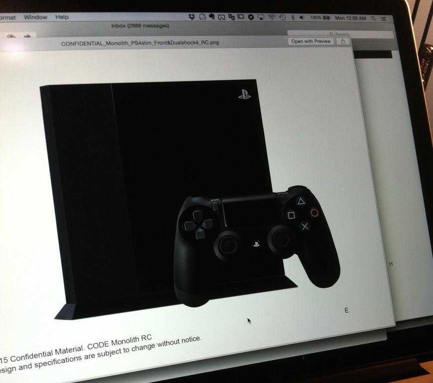Первые слухи о PlayStation 4 Slim