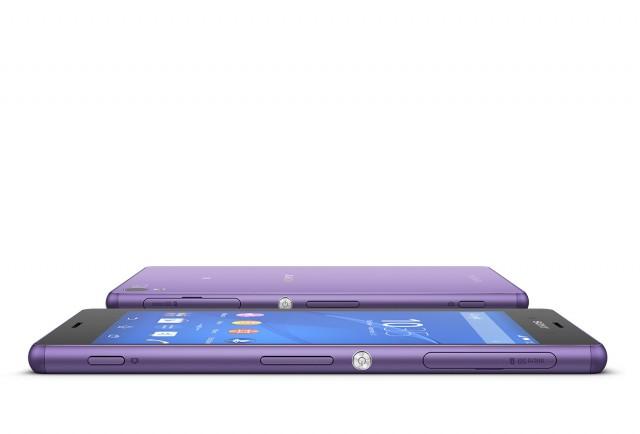 Фиолетовый Xperia Z3 уже официально доступен в Гонконге и на Тайване