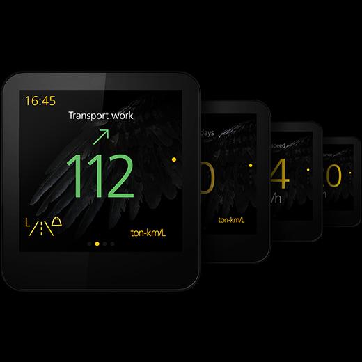 """Scania Watch """"Black Griffin"""": специальная ограниченная партия SmartWatch 3 для дальнобойщиков"""