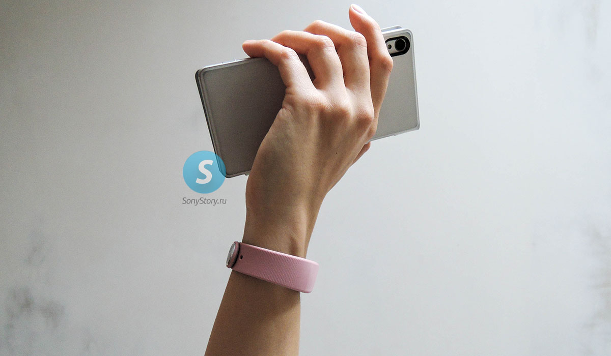 Распаковка и живые снимки комплекта ремешков SWR110 для SmartBand