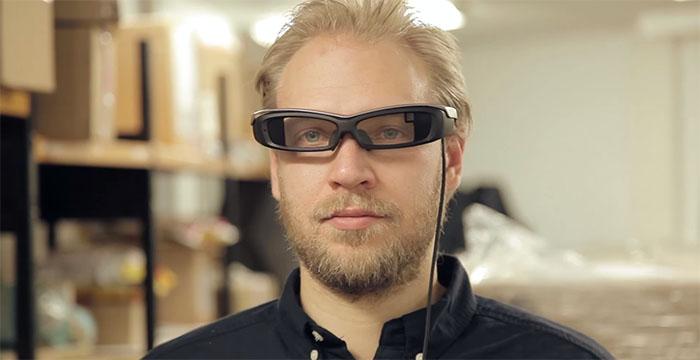 Примеры работы Sony SmartEyeglass в реальной жизни
