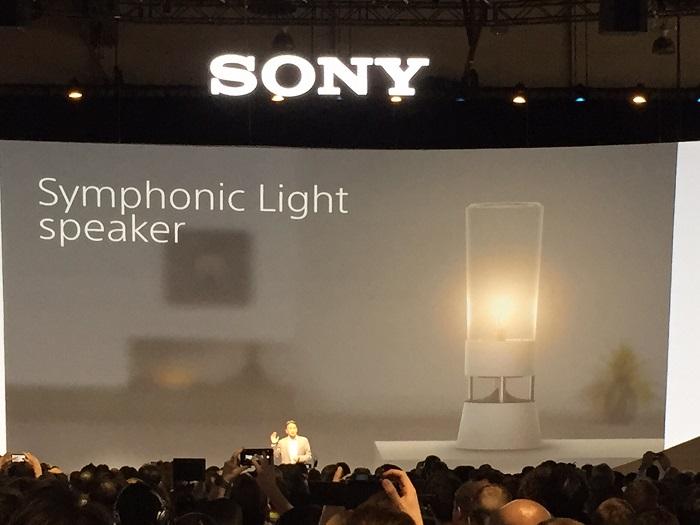 Новый инновационный концепт от Sony Symphonic Light Speaker