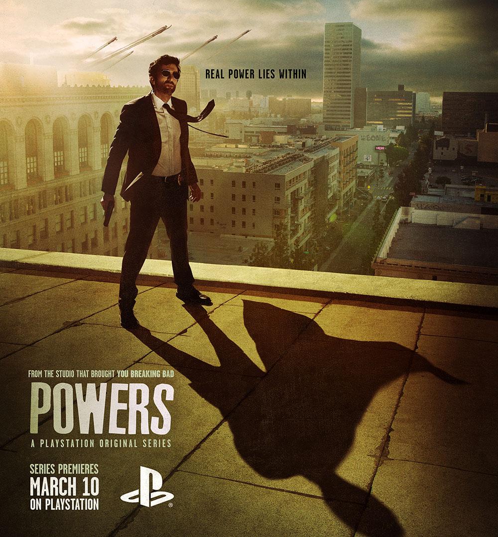 Кино эксклюзив для PlayStation: сериал Powers