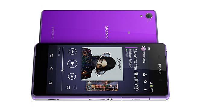 Фиолетовый Sony Xperia Z3 скоро появится в продаже