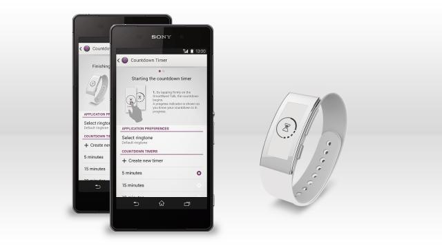 """Фирменное приложение """"Таймер обратного отсчета"""" доступно для SmartBand Talk"""