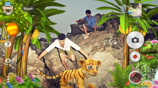 Новая AR Effect тема Jungle доступна в Google Play